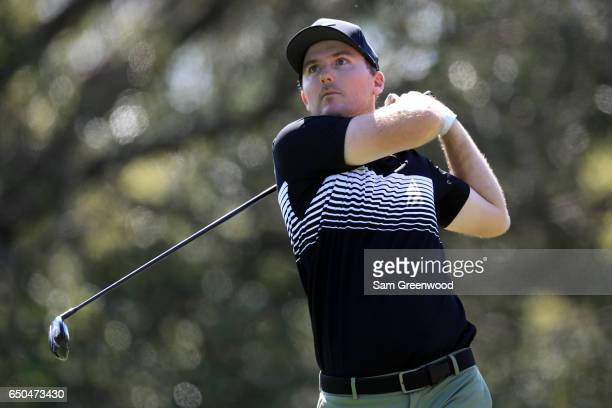 Russell Henley hits off the sixth tee during the first round of the Valspar Championship at Innisbrook Resort Copperhead Course on March 9 2017 in...