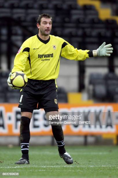 Russell Hoult Notts County goalkeeper