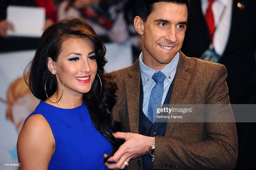 <a gi-track='captionPersonalityLinkClicked' href=/galleries/search?phrase=Russell+Kane&family=editorial&specificpeople=6213345 ng-click='$event.stopPropagation()'>Russell Kane</a> and Lindsey Cole attend the UK Film Premiere of 'Captain America: The Winter Soldier' at Westfield London on March 20, 2014 in London, England.