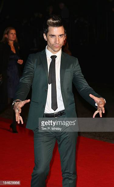 Russell Kane attends the afterparty for the Royal World Premiere of 'Skyfall' at Tate Modern on October 23 2012 in London England