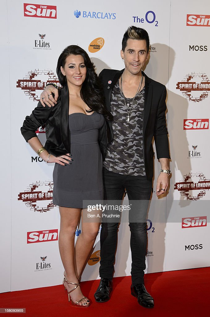 <a gi-track='captionPersonalityLinkClicked' href=/galleries/search?phrase=Russell+Kane&family=editorial&specificpeople=6213345 ng-click='$event.stopPropagation()'>Russell Kane</a> (R) attends the Spirit of London Awards at the O2 Arena on December 10, 2012 in London, England.