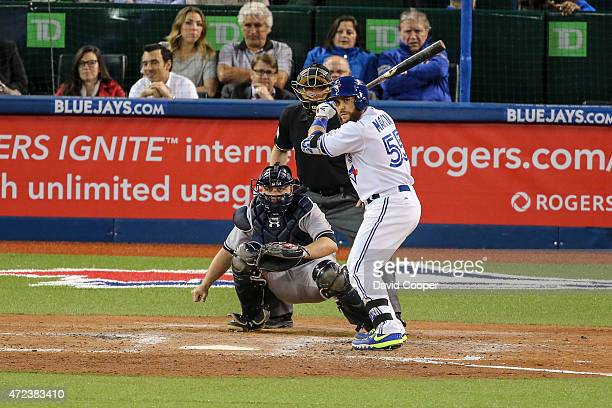 TORONTO ON MAY 6 Russell Martin of the Toronto Blue Jays at the plate in the 6th inning *FOR SPECIAL USES in TAB * during the game between the...