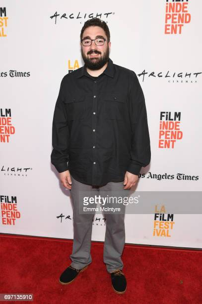 Russell Peborde attends the 'Izzy Gets The Fuck Across Town' and 'Ok Call Me Back' Premieres during the 2017 Los Angeles Film Festival at Arclight...