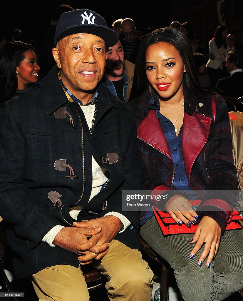 <a gi-track='captionPersonalityLinkClicked' href=/galleries/search?phrase=Russell+Simmons&family=editorial&specificpeople=202479 ng-click='$event.stopPropagation()'>Russell Simmons</a> and <a gi-track='captionPersonalityLinkClicked' href=/galleries/search?phrase=Angela+Simmons&family=editorial&specificpeople=653461 ng-click='$event.stopPropagation()'>Angela Simmons</a> attend the Tommy Hilfiger Fall 2013 Women's Collection fashion show during Mercedes-Benz Fashion Week at the Park Avenue Armory on February 10, 2013 in New York City.