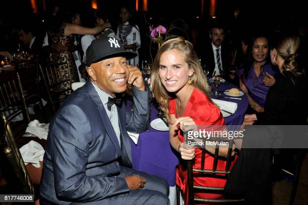 Russell Simmons and Ashley Bush attend SOMALY MAM FOUNDATION's Hearts Hand's Gala with SUSAN SARANDON at Capitale on October 26 2010 in New York City
