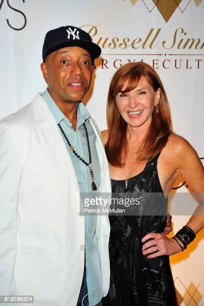 Russell Simmons and Nicole Miller attend RUSSELL SIMMONS MACY'S celebrate RUSSELL SIMMONS ARGYLECULTURE FALL 2010 Menswear Presentation at Ampersand...