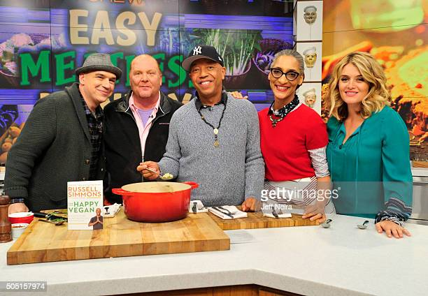 THE CHEW Russell Simmons appears on ABC's 'The Chew' Monday January 18 2016 THE CHEW airs MONDAY FRIDAY on the ABC Television Network OZ