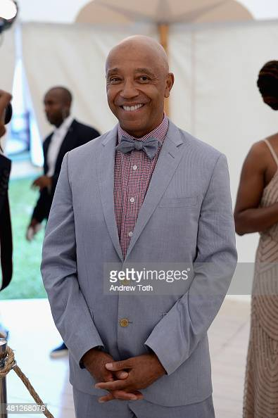 Russell Simmons attends as Russell Simmons' Rush Philanthropic Arts Foundation Celebrates 20th Anniversary At Annual Art For Life Benefit at Fairview...