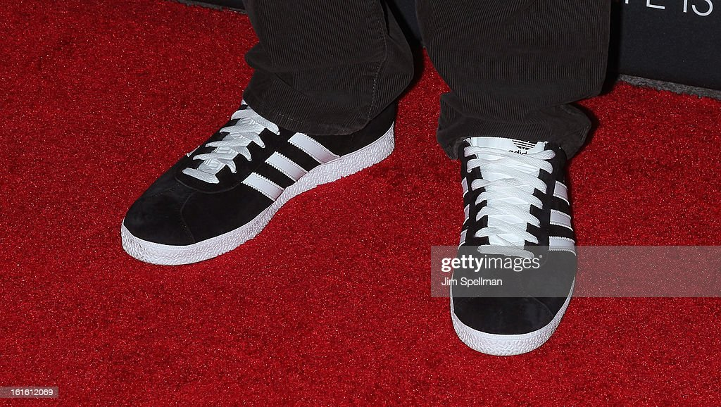 Russell Simmons (shoe detail) attends 'Beyonce: Life Is But A Dream' New York Premiere at Ziegfeld Theater on February 12, 2013 in New York City.