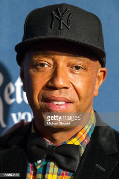 Russell Simmons attends the 24th annual GLAAD Media awards at The New York Marriott Marquis on March 16 2013 in New York City