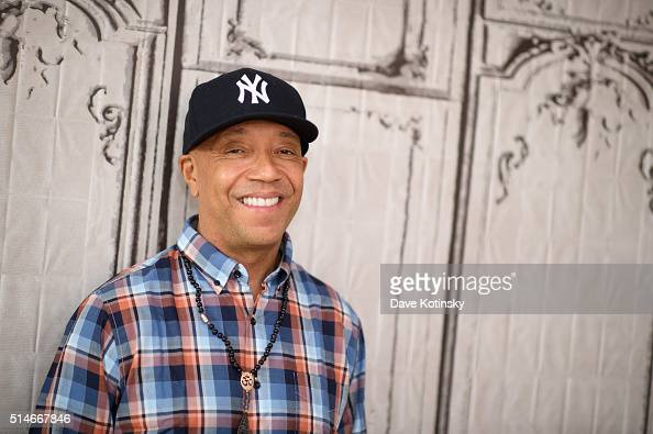 Russell Simmons attends the AOL Build Speakers Series 'The Happy Vegan' at AOL Studios In New York on March 10 2016 in New York City