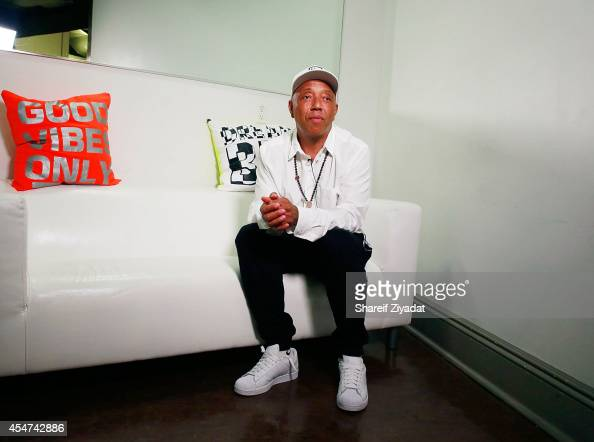 Russell Simmons attends the Argyleculture By Russell Simmons show at MercedesBenz Fashion Week Spring 2015 at Helen Mills Event Space on September 5...