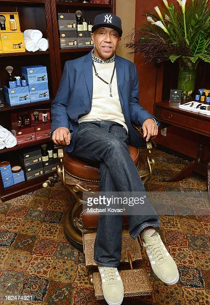 Russell Simmons attends The Art of Shaving And Bungalow 8 PreOscar Party at Petit Ermitage Hotel on February 20 2013 in West Hollywood California