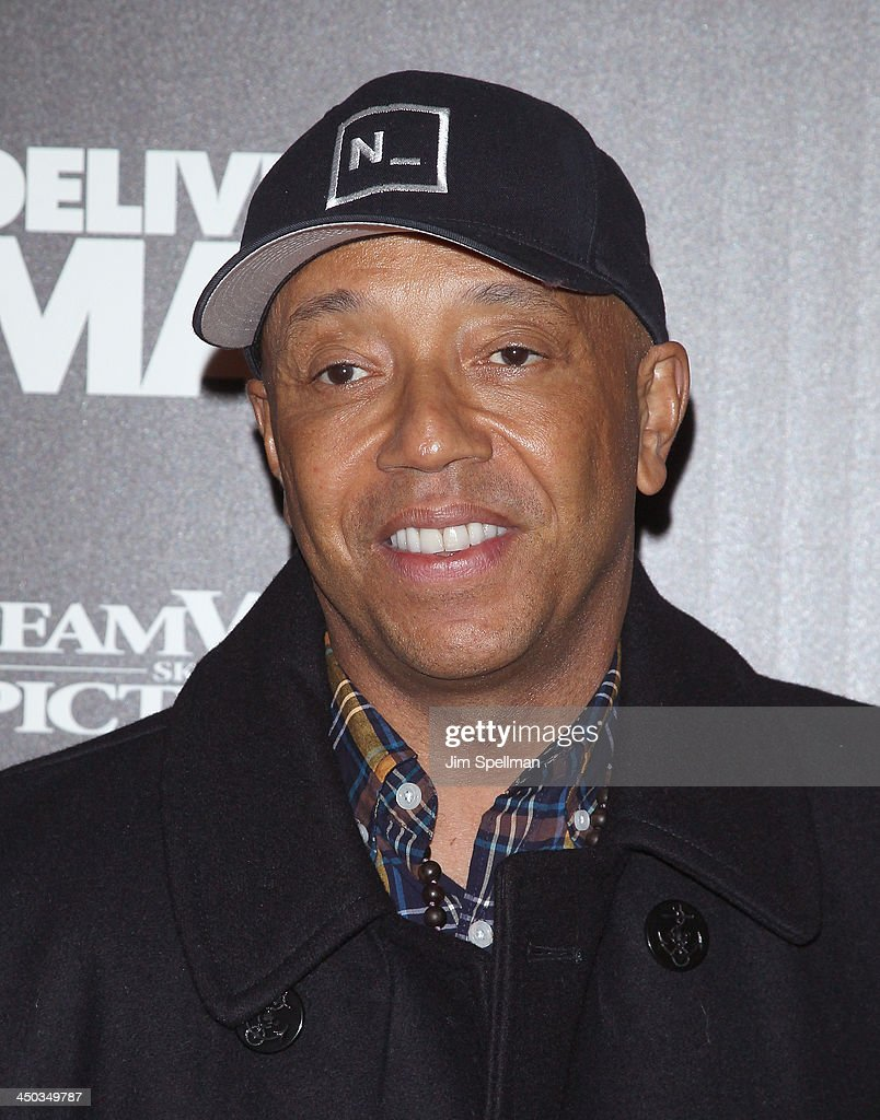 <a gi-track='captionPersonalityLinkClicked' href=/galleries/search?phrase=Russell+Simmons&family=editorial&specificpeople=202479 ng-click='$event.stopPropagation()'>Russell Simmons</a> attends the DreamWorks Pictures and The Cinema Society screening of 'Delivery Man' at Paley Center For Media on November 17, 2013 in New York City.