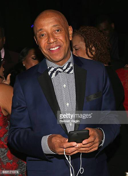 Russell Simmons attends the National CARES Mentoring Movement's 2nd Annual 'For the Love of Our Children' Gala at Cipriani 42nd Street on January 30...
