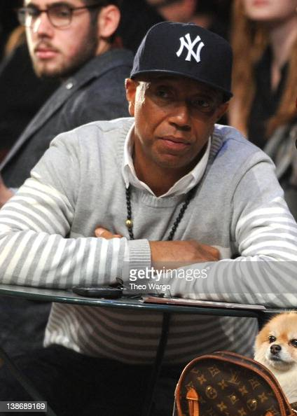 Russell Simmons attends Tommy Hilfiger Presents Fall 2012 Men's Collection show during MercedesBenz Fashion Week at Park Avenue Armory on February 10...