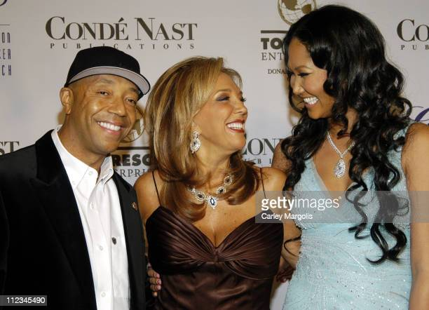 Russell Simmons Denise Rich and Kimora Lee Simmons