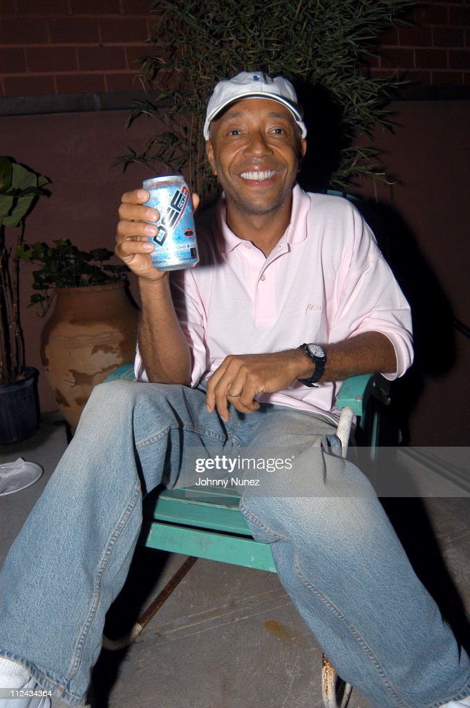 Russell Simmons during House of Courvoisier and Phat Farm presents the Phat Classics Flavas Party New York City at Villa in New York City, New York, United States.