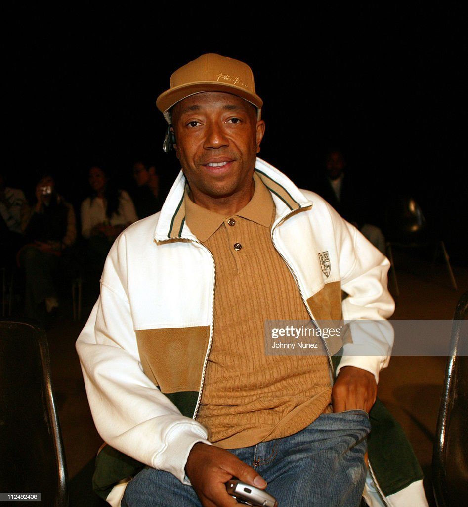 Russell Simmons during Phat Farm and Baby Phat Style Remix Contest at Parson's School of Design March 31 2005 at Parsons School Of Design in New York...