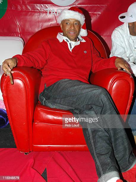 Russell Simmons during Rush Youth Holiday Party December 12 2005 at Irving Plaza in New York City New York United States