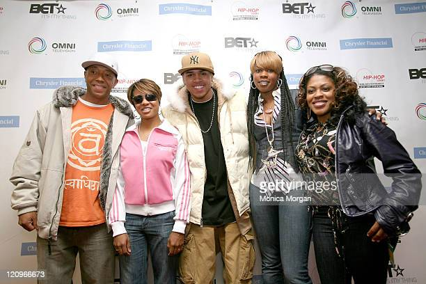 Russell Simmons MC Lyte Chris Brown Remy Ma And Lil Mo