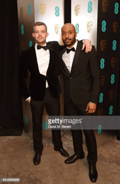 Russell Tovey and Arinze Kene attends the official After Party Dinner for the EE British Academy Film Awards at Grosvenor House on February 12 2017...
