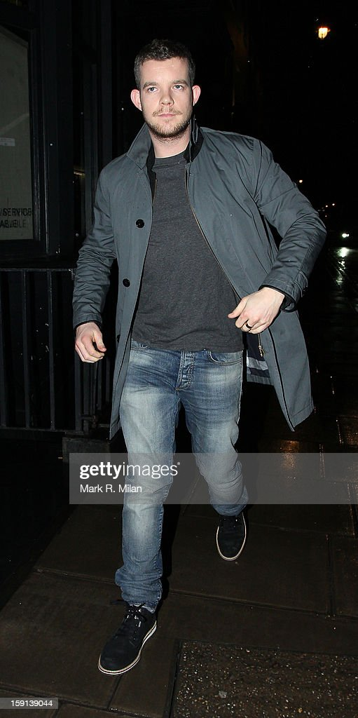 <a gi-track='captionPersonalityLinkClicked' href=/galleries/search?phrase=Russell+Tovey&family=editorial&specificpeople=741440 ng-click='$event.stopPropagation()'>Russell Tovey</a> at the Groucho club on January 8, 2013 in London, England.