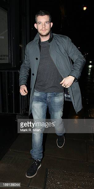 Russell Tovey at the Groucho club on January 8 2013 in London England