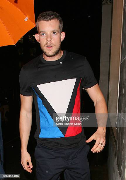 Russell Tovey attending the Louis Vuitton Dinner to celebrate the Men's Autumn Winter 2013 Collection on September 11 2013 in London England
