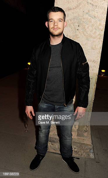 Russell Tovey attends the Jonathan Saunders Fantastic Man and Selfridges London Collections MEN AW13 dinner at The Old Selfridges Hotel on January 8...