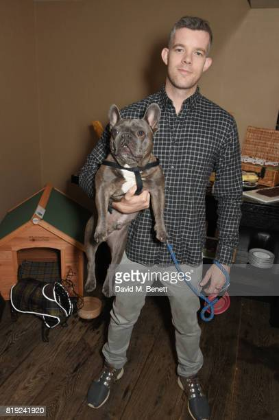 Russell Tovey attends the launch of Rosewood's Canine Luxury Experience and the Barbour Dogs Loyalty Scheme hosted by Rosewood London and Barbour at...