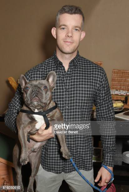Russell Tovey attends the launch of Rosewood's Canine Luxury Experience hosted by Rosewood London and Barbour at Rosewood London on July 20 2017 in...