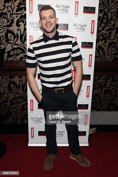 Russell Tovey attends the 'My Night With Reg' 21st Birthday Gala at The Apollo Theatre on March 31 2015 in London England