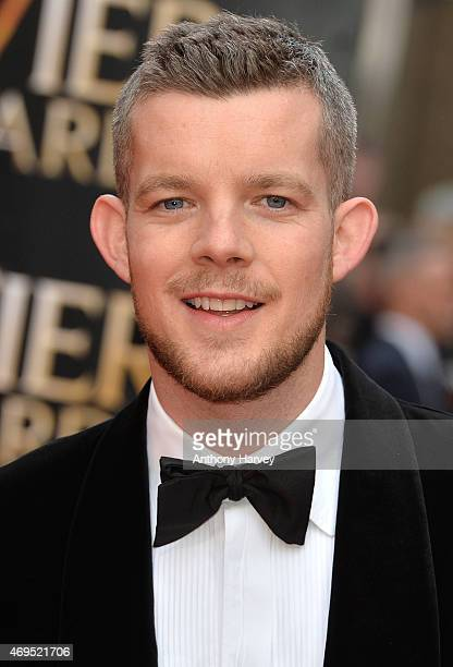 Russell Tovey attends The Olivier Awards at The Royal Opera House on April 12 2015 in London England