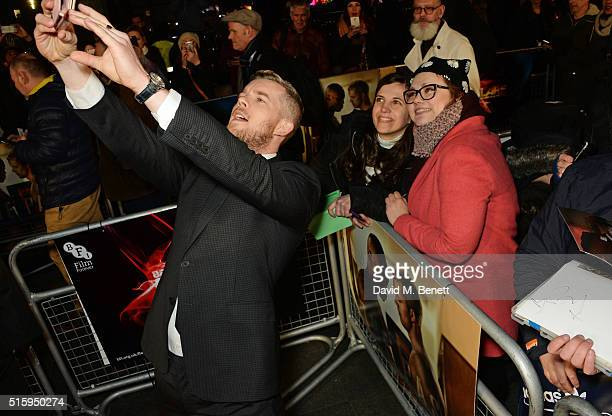 Russell Tovey attends the UK Premiere of 'The Pass' the opening night film of BFI Flare The London LGBT Film Festival at Odeon Leicester Square on...
