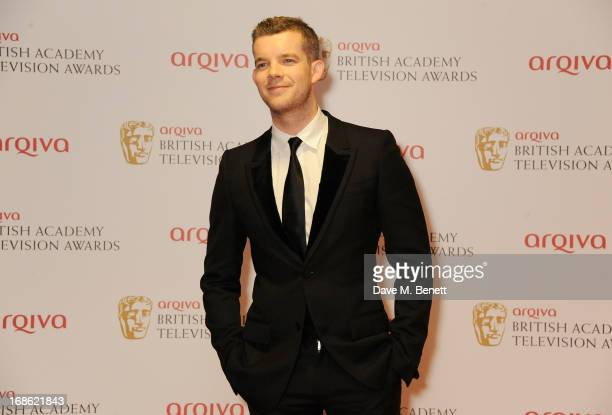 Russell Tovey poses in the press room at the Arqiva British Academy Television Awards 2013 at the Royal Festival Hall on May 12 2013 in London England