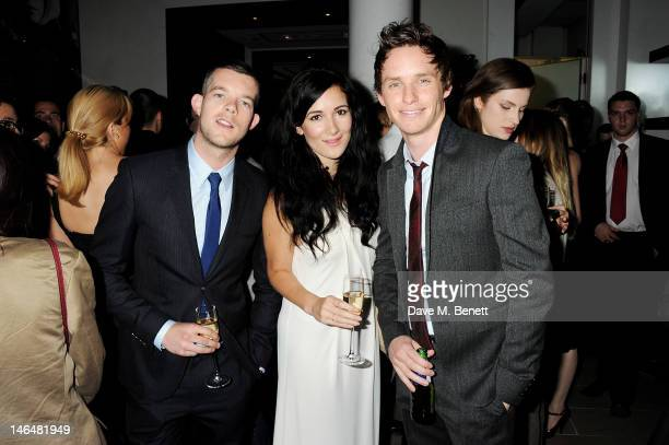Russell Tovey Sarah Solemani and Eddie Redmayne attend as Christopher Bailey and Eddie Redmayne host a cocktail party to celebrate Burberry as part...