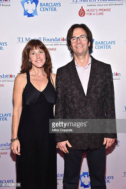 Russell Wallach and Stephanie Wallach attend TJ Martell Foundation's 41st Annual Honors Gala at Gustavino's on October 18 2016 in New York City