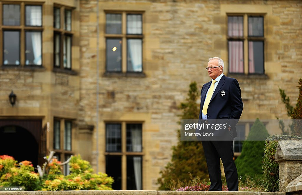 Russell Weir, Captain of the Great Britain and Ireland PGA Cup looks on ahead of the opening ceremony ahead of the 26th PGA Cup at De Vere Slaley Hall on September 19, 2013 in Hexham, England.