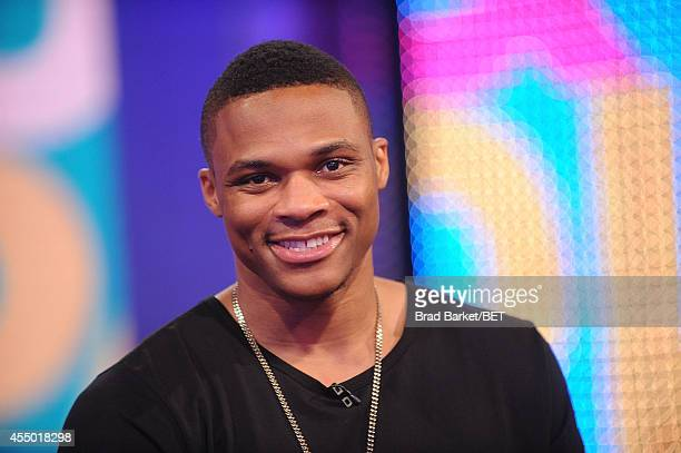 Russell Westbrook attends BET 106 Park Live on September 8 2014 in New York City