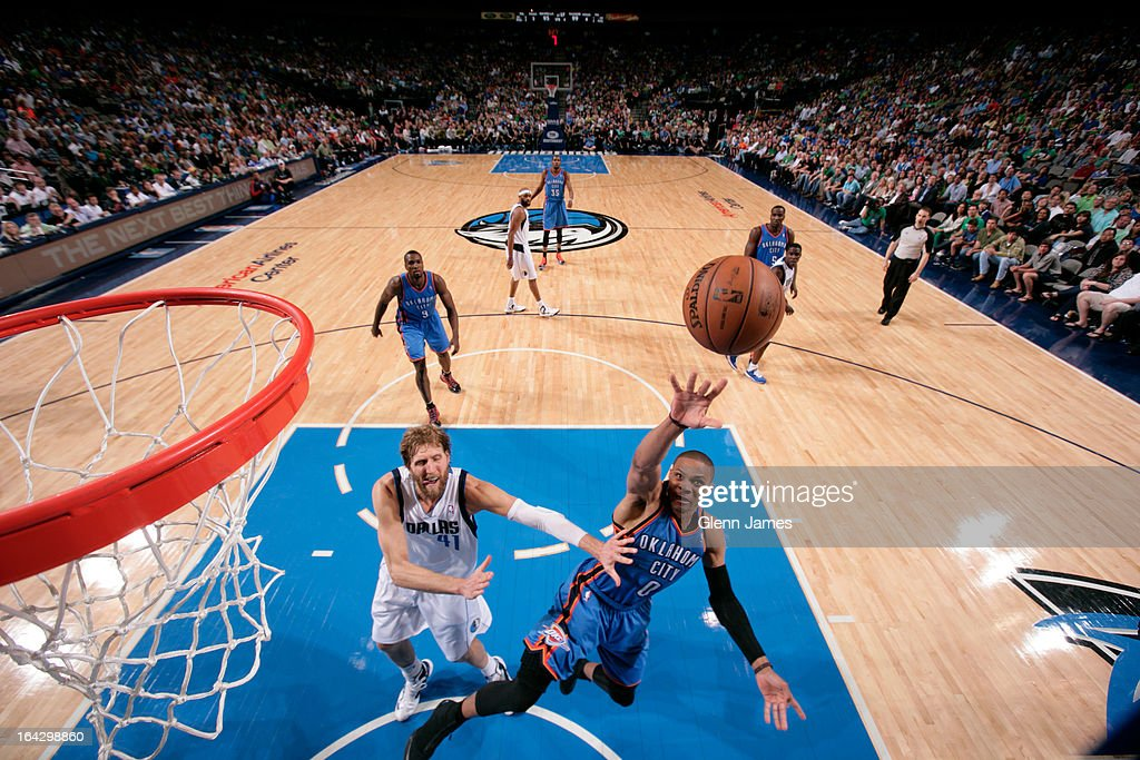 <a gi-track='captionPersonalityLinkClicked' href=/galleries/search?phrase=Russell+Westbrook&family=editorial&specificpeople=4044231 ng-click='$event.stopPropagation()'>Russell Westbrook</a> #0 of the Oklahoma City Thunder puts up a shot against the Dallas Mavericks on March 17, 2013 at the American Airlines Center in Dallas, Texas.