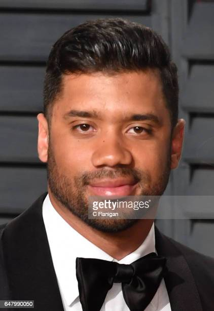Russell Wilson attends the 2017 Vanity Fair Oscar Party hosted by Graydon Carter at Wallis Annenberg Center for the Performing Arts on February 26...