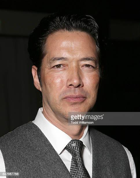 Russell Wong attends the premiere Of Wonder Vision's 'Seoul Searching' at The Majestic Downtown on June 24 2016 in Los Angeles California