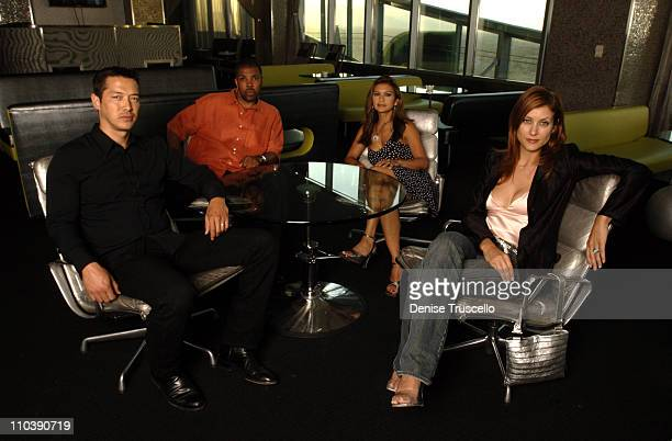 Russell Wong Eriq La Salle Nia Peeples and Kate Walsh