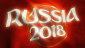Russia 2018 World Championship Theme Banner.
