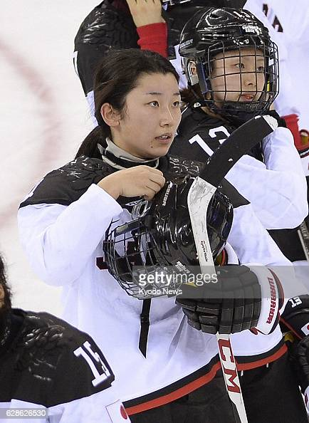 SOCHI Russia Japan defender Ayaka Toko in women's ice hockey shown at the Sochi Winter Olympics in Russia on Feb 18 says the surgery scar on her neck...