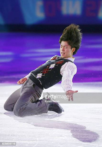 SOCHI Russia Japanese figure skater Tatsuki Machida performs during an exhibition gala on Feb 22 at the Sochi Winter Olympics in Russia