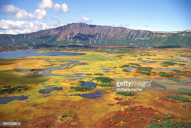 Russia Kamchatka View Of Uzon Caldera