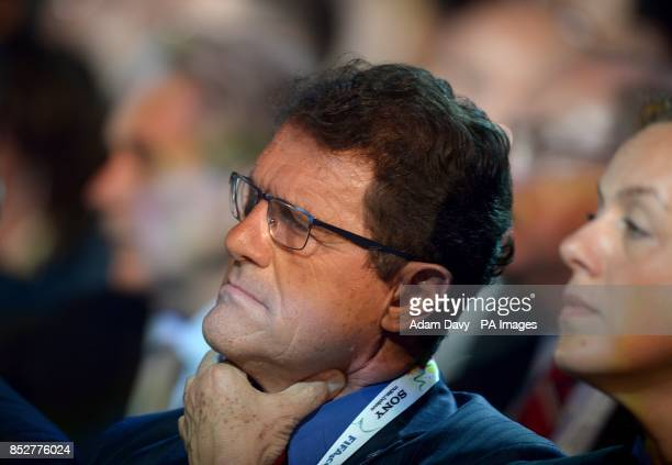 Russia manager Fabio Capello during the FIFA 2014 World Cup Draw at the Costa Do Sauipe Salvador Bahia