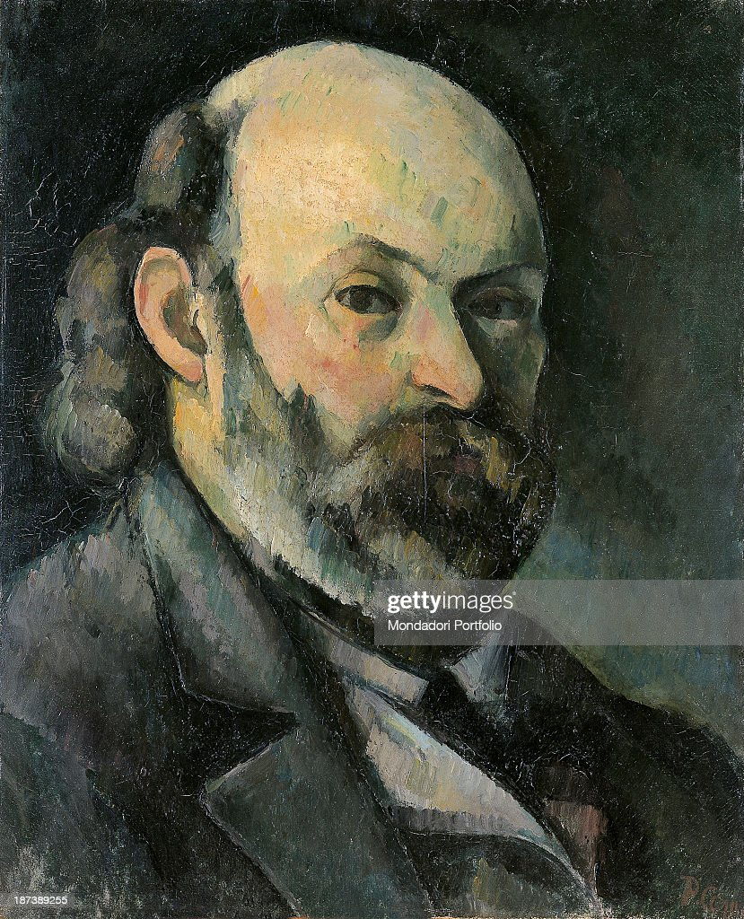 Russia, Moscow, Pushkin Museum of Fine Arts, All, Self-portrait of the painter Paul Cézanne with a beard,